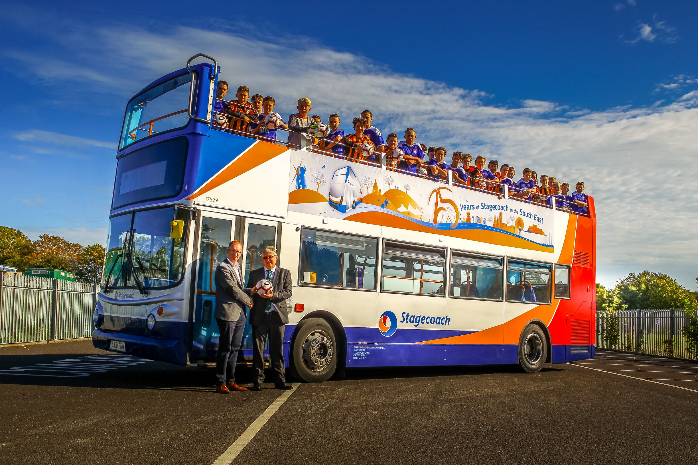 Stagecoach launch